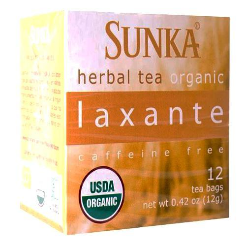 sunka organic laxative tea