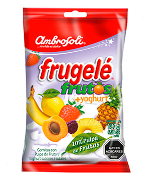Frugele fruits and yogurt - Bag 180 grs