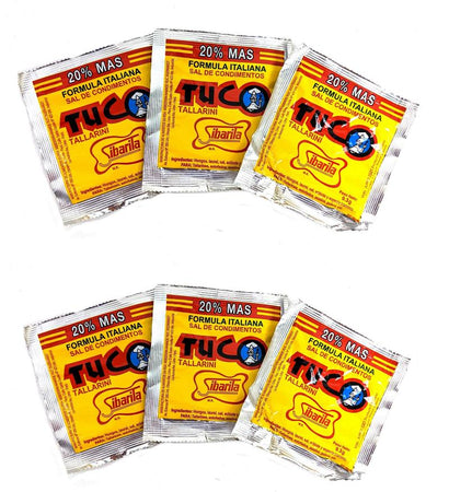 1 pack Tuco tallarin - 6 unid - 8.4grs