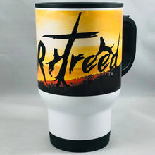 "Load image into Gallery viewer, dogsRtreed WRAP-AROUND LOGO  ""ON-THE-GO"" MUG"