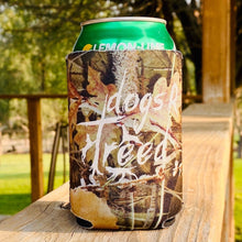 Load image into Gallery viewer, dogs R treed CAN KOOZIE - CAMOUFLAGE NEOPRENE