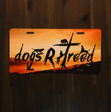 Load image into Gallery viewer, dogsRtreed DECORATIVE LICENSE PLATE