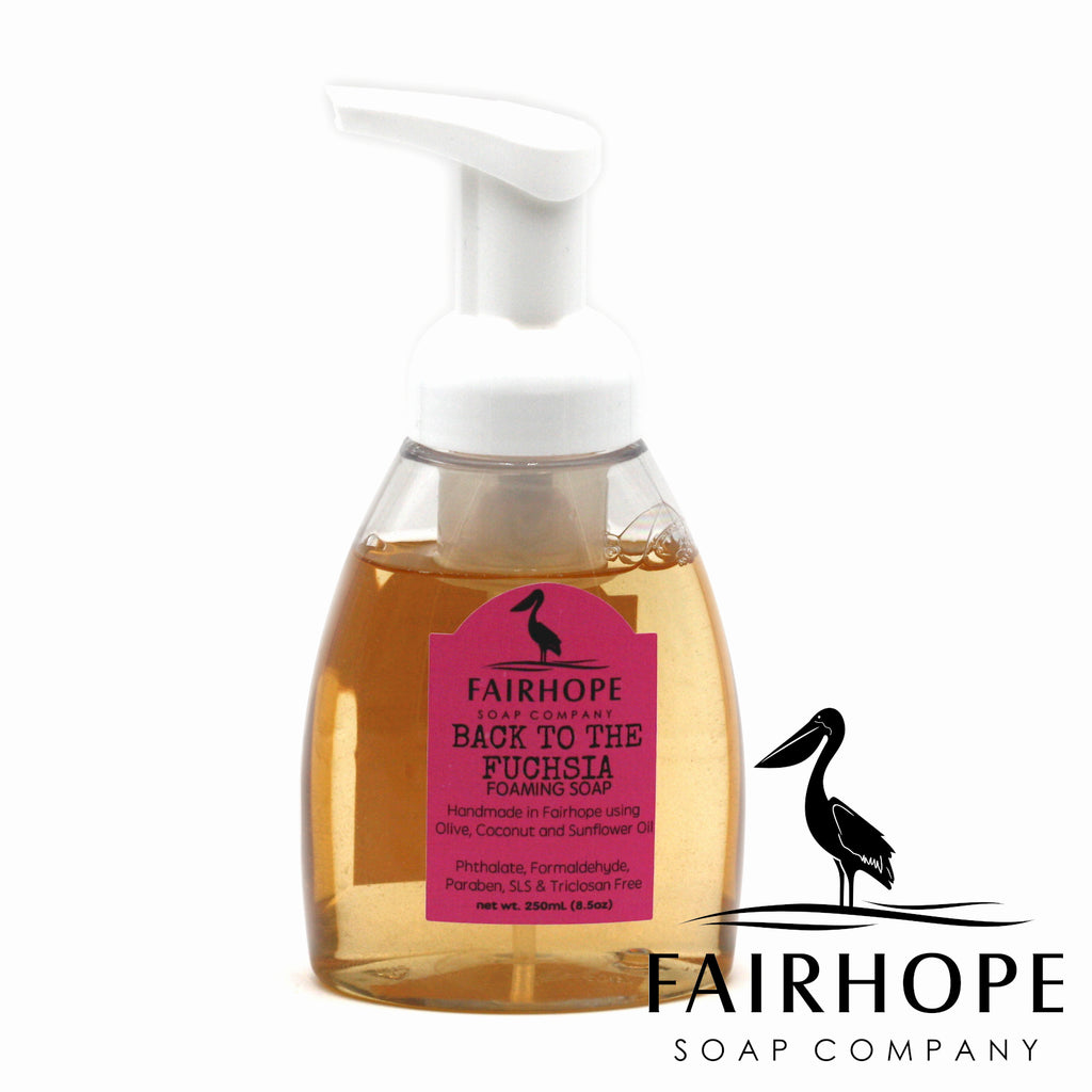 Back To the Fuchsia Liquid Foaming Soap