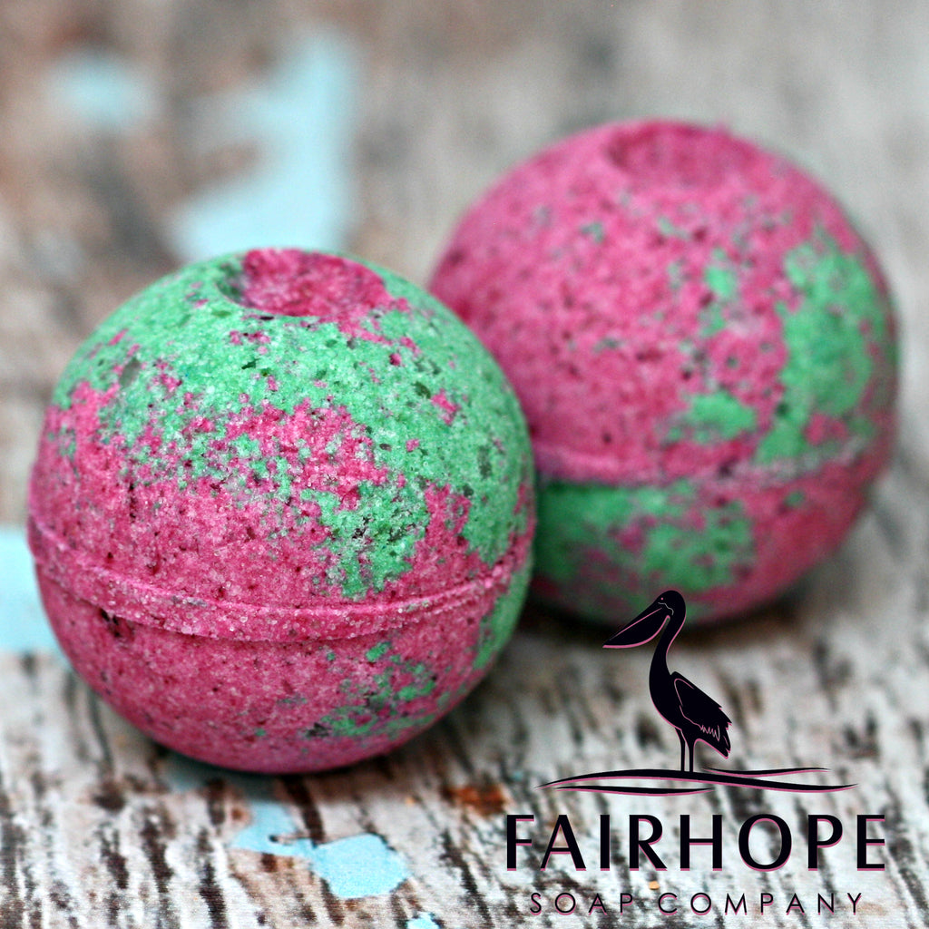 Back to the Fuchsia Bath Bomb
