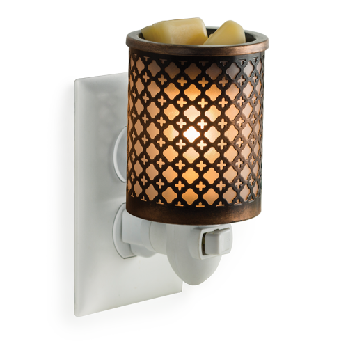 Moroccan Metal Pluggable Fragrance Warmer