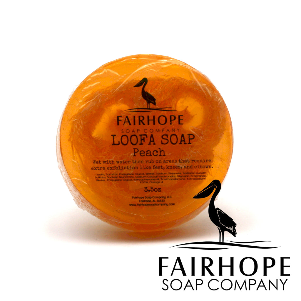 Peach Loofa Soap
