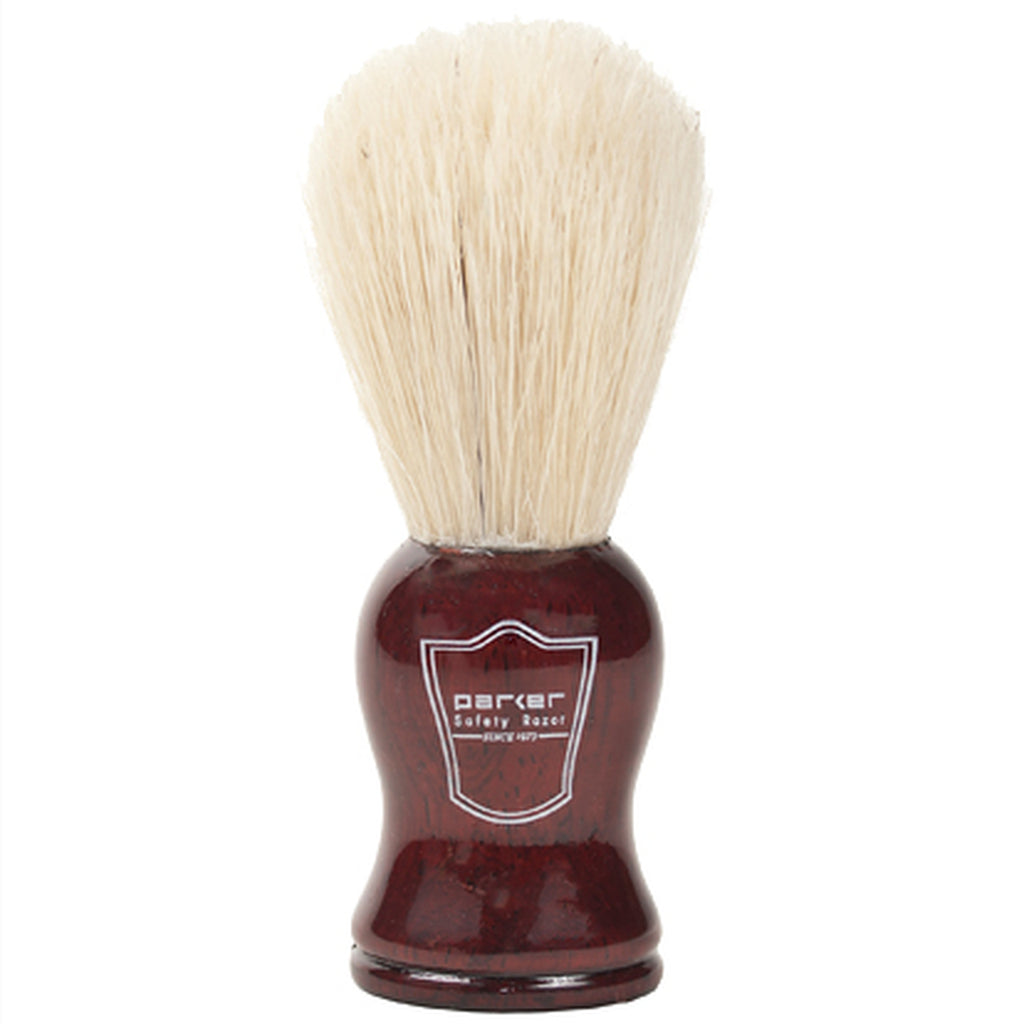 Parker Rosewood Handle Boar Shaving Brush and Stand