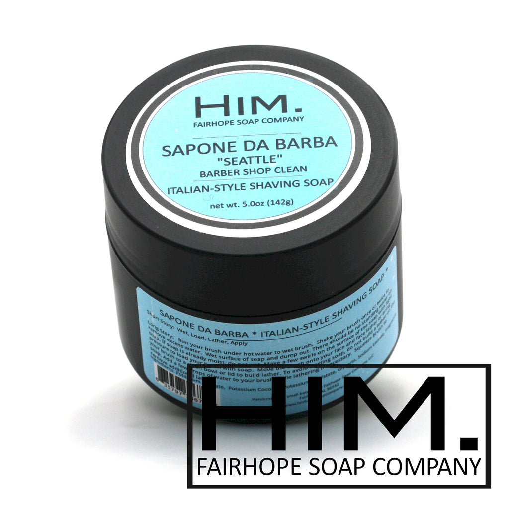 Seattle Italian-Style Shave Soap