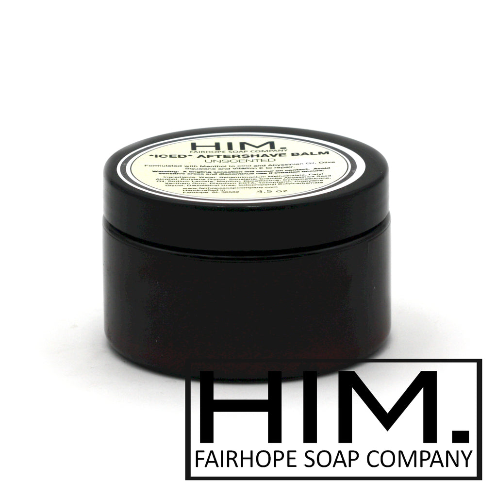 Unscented *Iced* Aftershave Balm