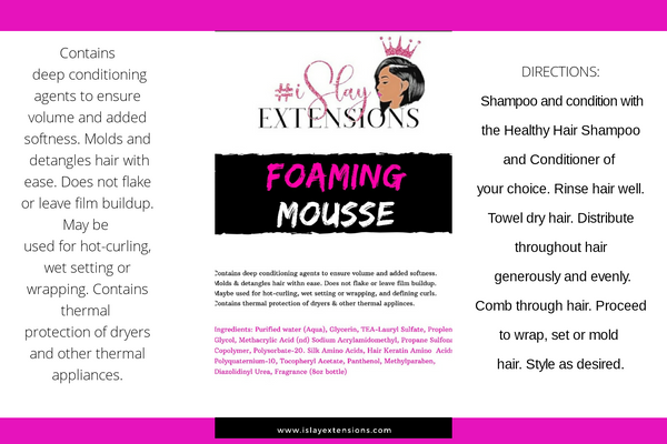Mousse Wholesale ***START YOUR OWN MOUSSE LINE***