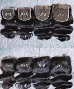 Mink Closure 4x4 ** Must order 3 bundles OR MORE**