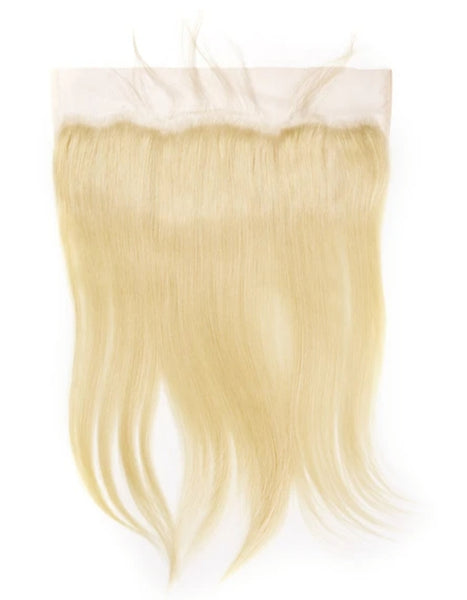 613 Platinum Blonde Frontal and Closure***Must order bundles as well***