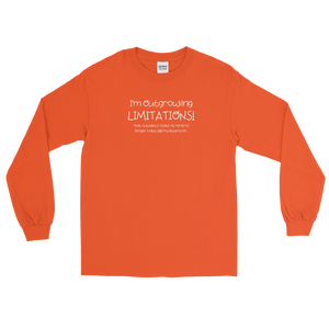 I'm Outgrowing Limitations - Long Sleeve T-Shirt