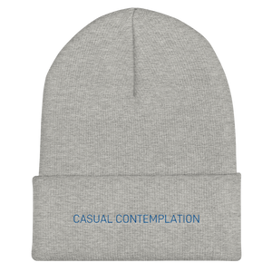 Casual Contemplation - Cuffed Beanie