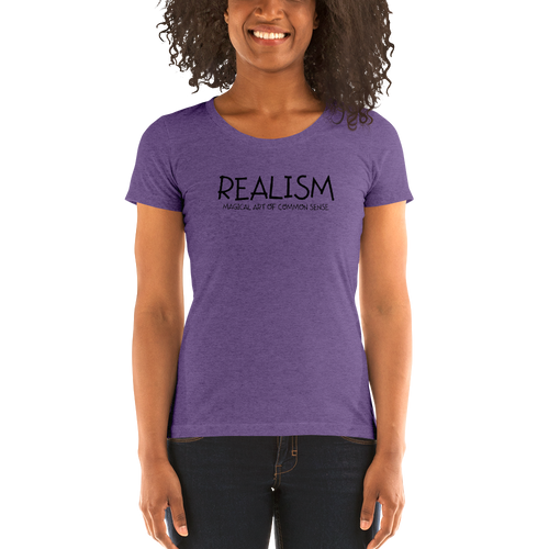 Realism - Ladies' short sleeve t-shirt
