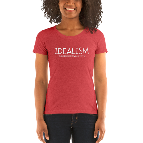 Idealism - Ladies' short sleeve t-shirt