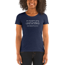 Load image into Gallery viewer, I'm Outgrowing Limitations - Ladies' short sleeve t-shirt