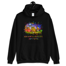 Load image into Gallery viewer, Your Heart Is A Sacred Site - Unisex Hoodie