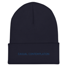 Load image into Gallery viewer, Casual Contemplation - Cuffed Beanie