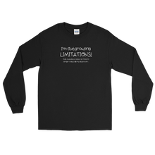 Load image into Gallery viewer, I'm Outgrowing Limitations - Long Sleeve T-Shirt