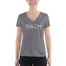 Load image into Gallery viewer, Realism - Women's Fashion Deep V-neck Tee