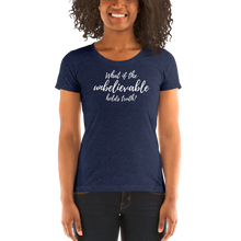 Load image into Gallery viewer, Unbelievable Truth - Ladies' short sleeve t-shirt