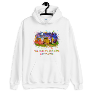 Your Heart Is A Sacred Site - Unisex Hoodie