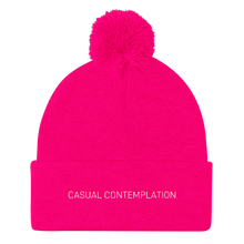 Load image into Gallery viewer, Casual Contemplation - Pom Pom Knit Cap