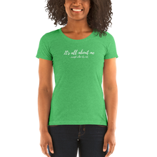 Load image into Gallery viewer, All About Me - Ladies' short sleeve t-shirt