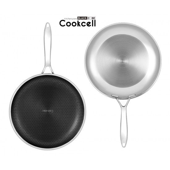 COOKCELL Hybrid Non-Stick Frypan 24cm