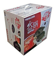 TESCOM ELECTRIC Hot Pot Grill Slow Cooker GPF60 Made in Japan