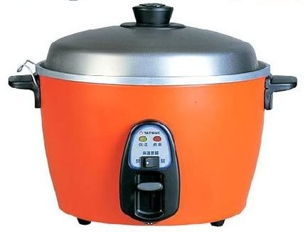 TATUNG Multi-function Cooker Rice Steam Soup - Made in Taiwan (Red 6/10Cups)