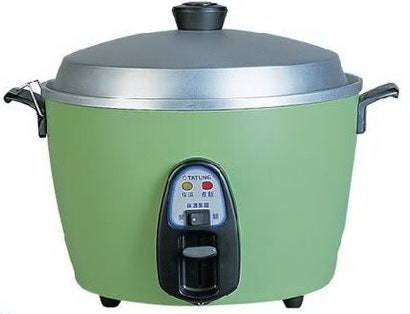 TATUNG Multi-function Cooker Rice Steam Soup - Made in Taiwan (Green 6/10Cups)