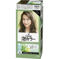 KAO Liese Prettia Bubble Hair Color British Ash