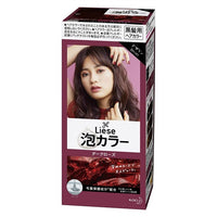 KAO Liese Prettia Bubble Hair Color Dark Rose