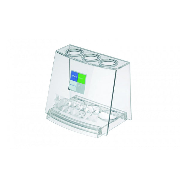 INOMATA Acrylic Toothbrush Holder