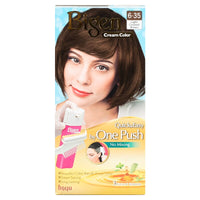 BIGEN One Push Permanent Hair Color Light Caramel Brown