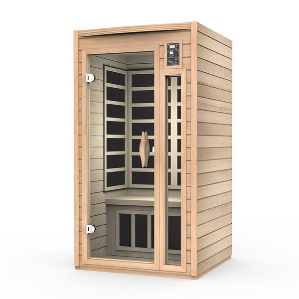 Kylin Luxury Carbon Fibre Heating Far Infrared Sauna 1 Person Delivery