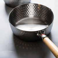Yoshikawa Stainless Steel Saucepans / Snowpot 16/18/20/22 CM - Made in Japan