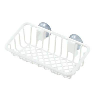 INOMATA Small Kitchen Basket with Suction