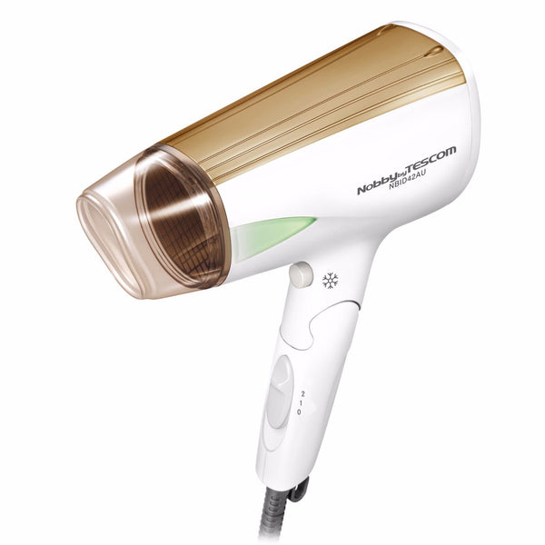 Nobby by TESCOM NBID42AU Ionic Travel Hair Dryer 1200W Made In Japan