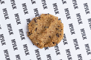 No Bake Choc Chip Cookie