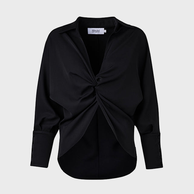 Kamziz Notch Blouse