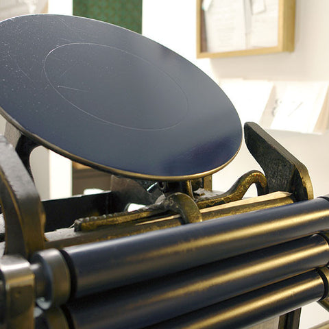 Private Letterpress Printing Instruction