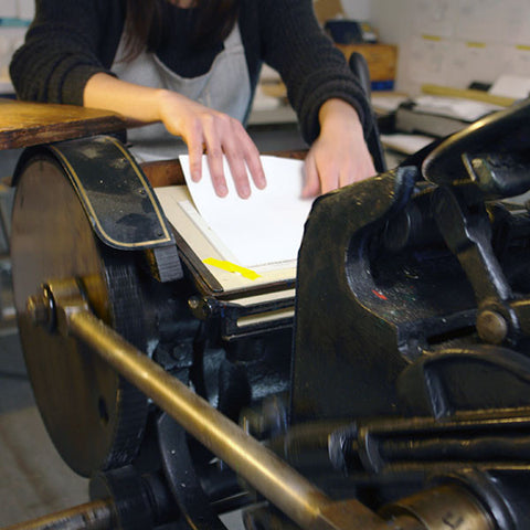 Letterpress Wedding Invitation Workshop