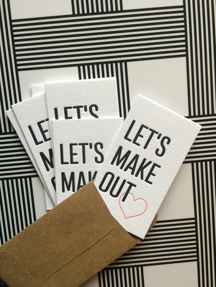 Let's Make Out, Mini Card