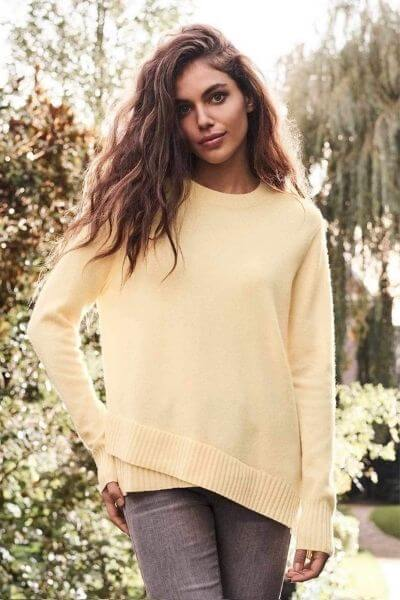 Chandail Jaune Repeat Cashmere