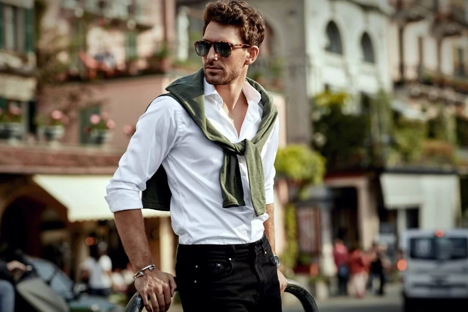 style-homme-chemise-blance