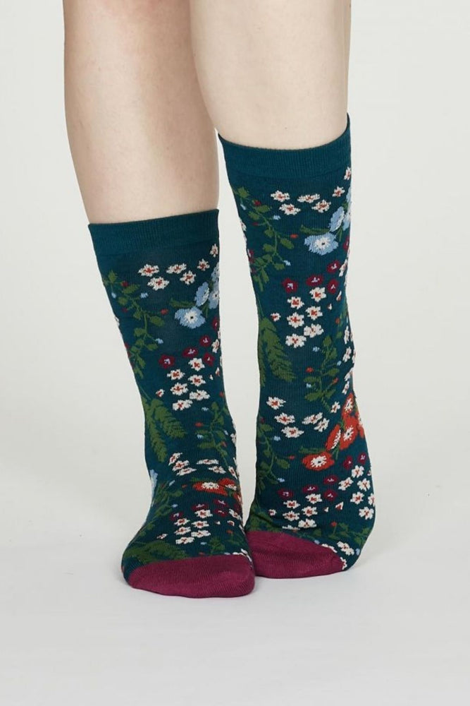 Chaussettes en bambou BLOSSOM Thought