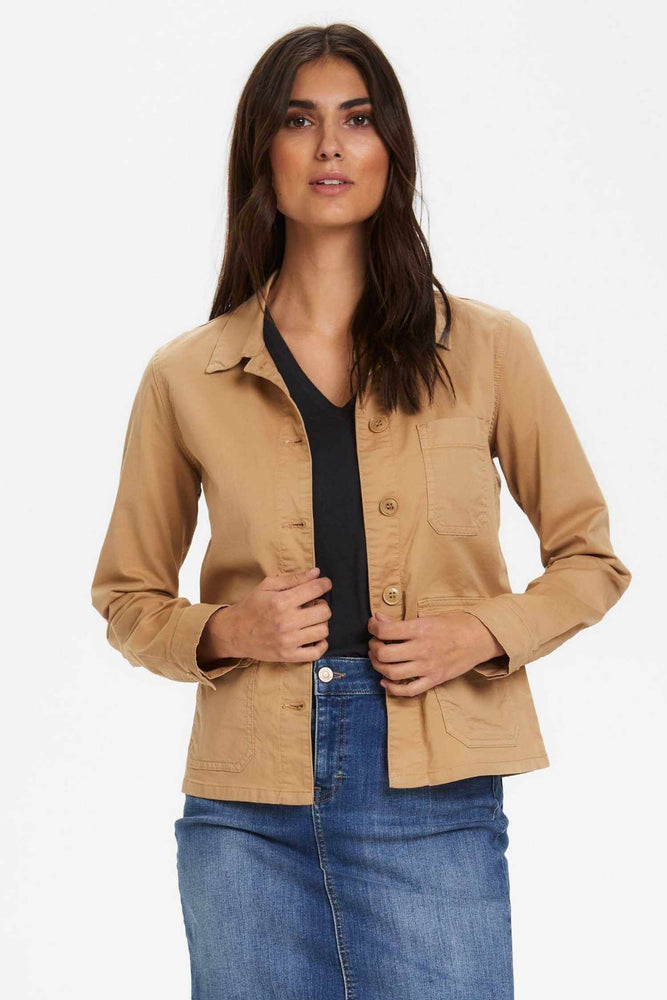 Veste Begina Beige Part Two Zoom